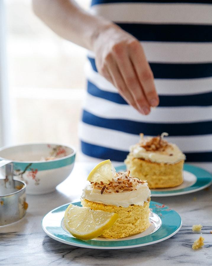 Mini honey lemon Cake