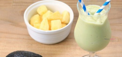 Pineapple Avocado Smoothie