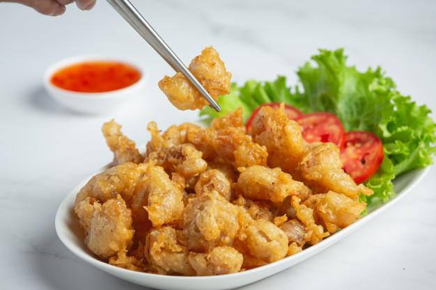 Fried Chicken Tendons